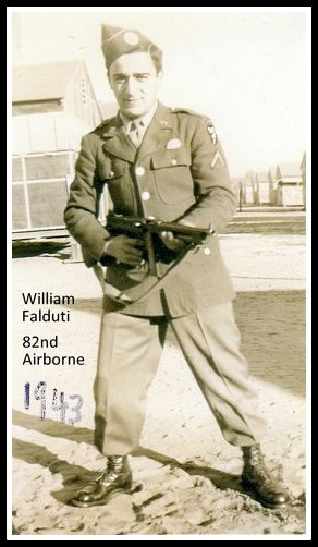 William Falduti - 82nd Airborne, 1943. Nutley NJ resident