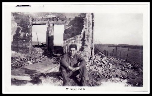 William Falduti, post-war Europe, 82nd Airborne, jumped into D-Day